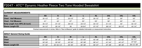 Dynamic Heather Fleece Performance Hoodie - Embroidery - White Arms