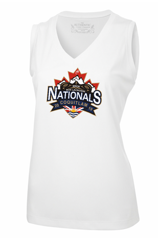 White ATC Pro Team Sleeveless Tank Top