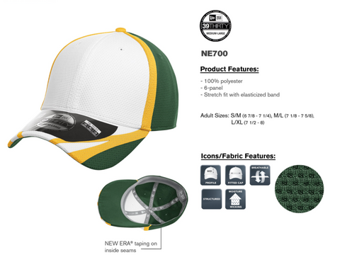 New Era Gridiron Training Cap With Embroidery