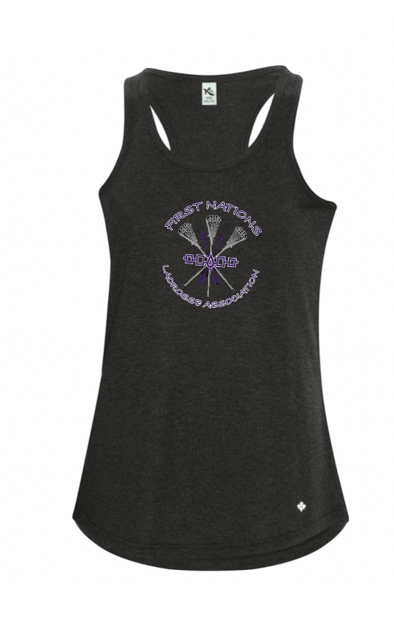 Koi Triblend Womens Tank Top With Screen Print
