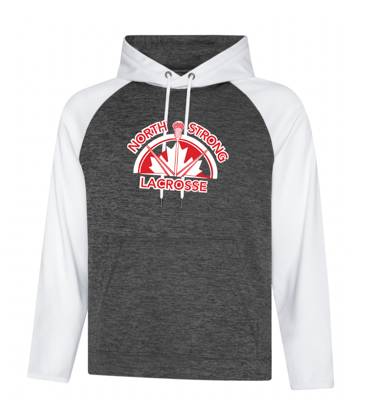 Dynamic Heather Fleece Performance Hoodie