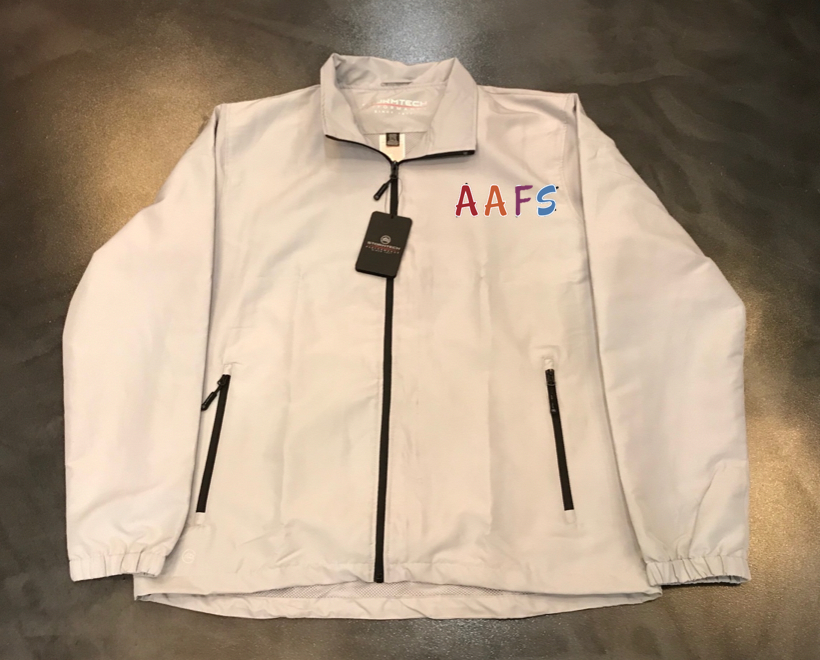 AAFS Feature Product - Stormtech performance rain jacket with Embroidery