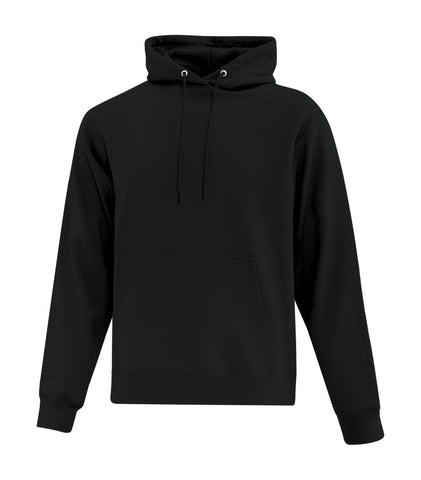 Black ATC Cotton Fleece Hooded Sweatshirt