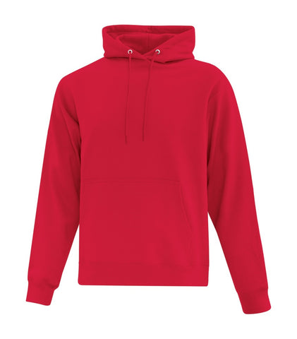 ATC Cotton Fleece Hooded Sweatshirt - Red