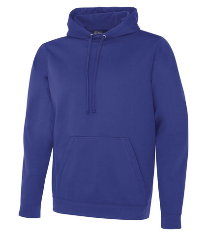 "ATC Dry Fit Performance Hoodie with ""Collegiate"" Screen Print - Royal Blue"