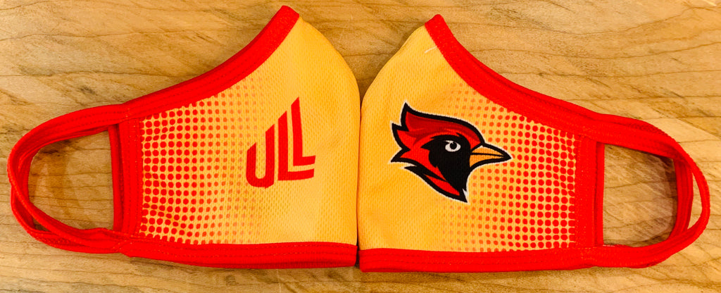 Cardinal Sublimation Face Mask