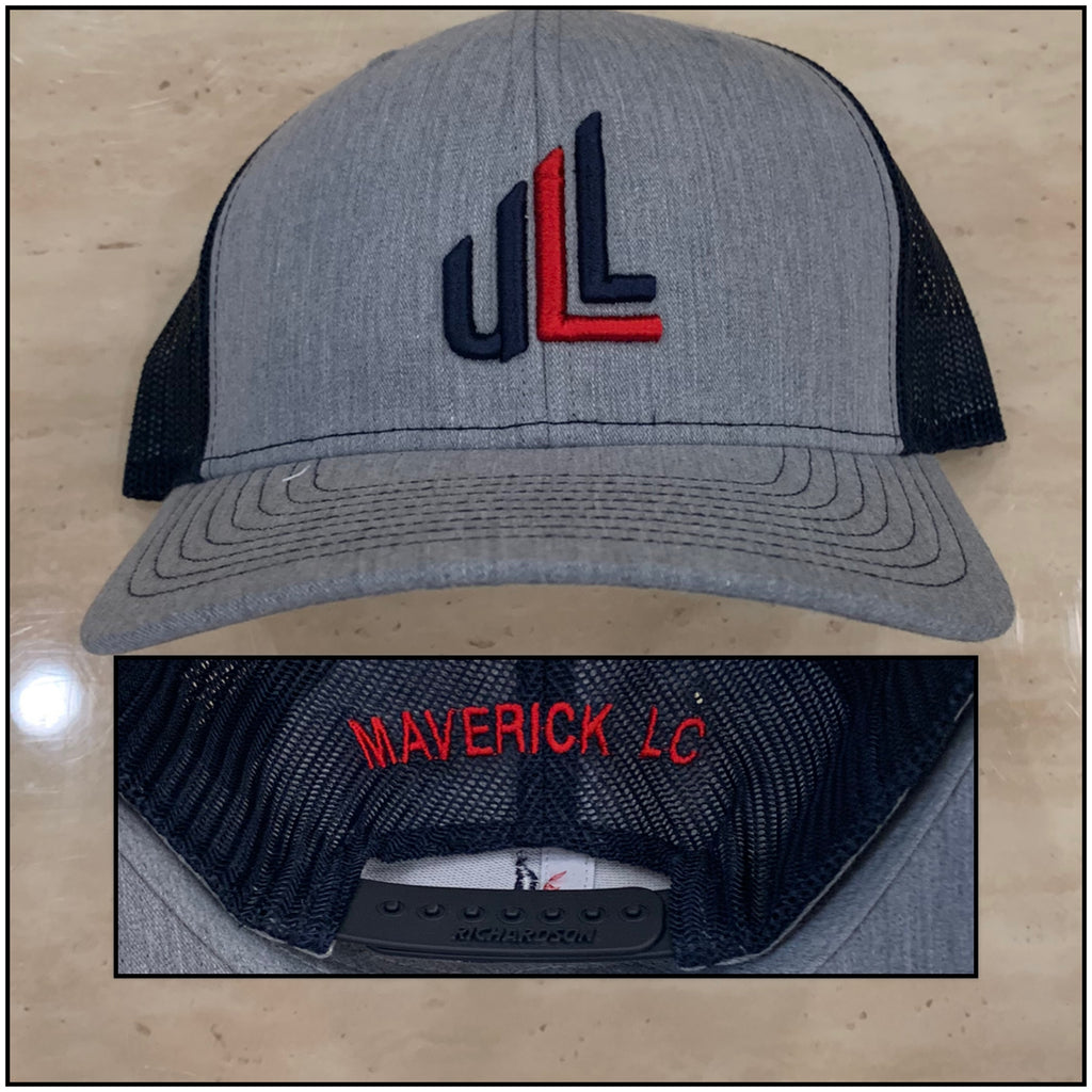 """MAVERICK"" Richardson Snapback Trucker Cap"