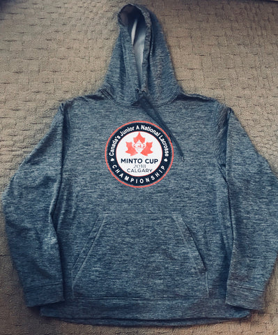 ATC Performance Heathered Fleece Hoodie - With Minto Cup Screen Print