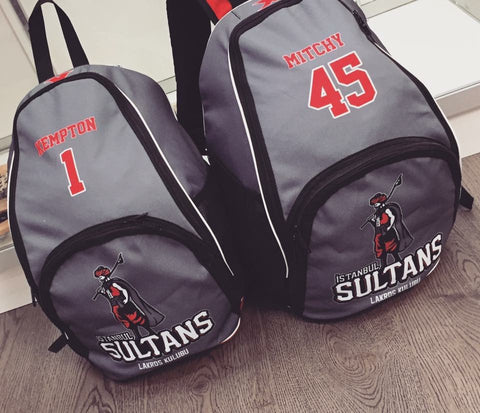 Sublimated Backpack 6/8 Weeks