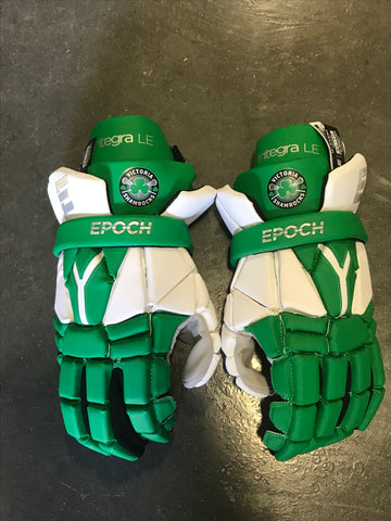 Epoch Integra Lacrosse Gloves - VICTORIA SHAMROCKS