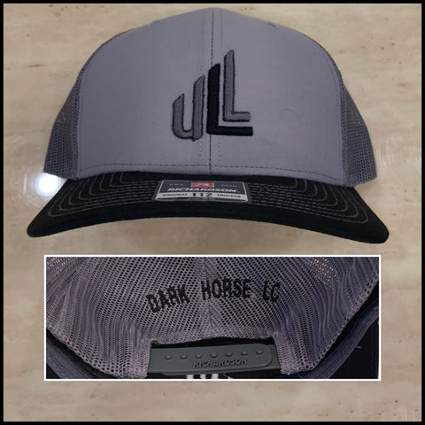 """DARK HOSE"" Richardson Snapback Trucker Cap"