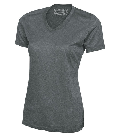 ATC Dry Fit Heathered T-Shirt - With Screen Print