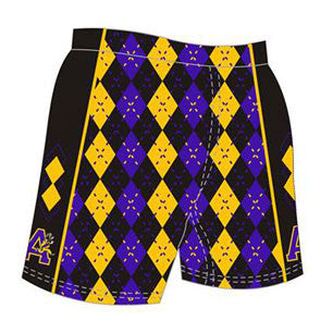 Sublimated Adanac Argyle Shorts