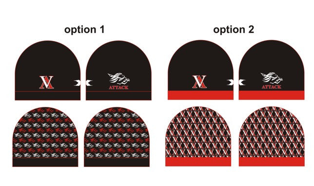 Sublimated Reversible Toque