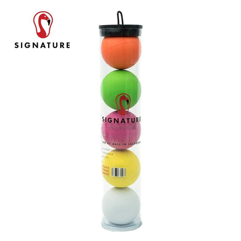 Tube of 5 Signature Premium Lacrosse Balls