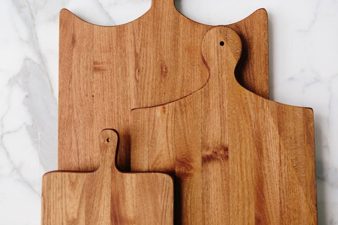 European Cutting Board, Set of 3