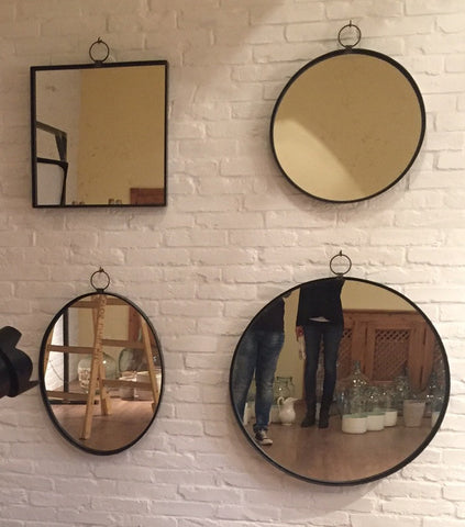 Iron Wall Mirrors