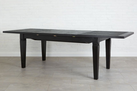 Parisian Extension Table, Black