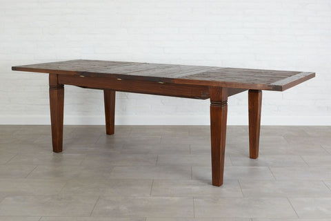 Parisian Extension Table, Saddle
