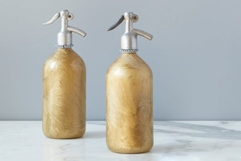 Gold Frost Seltzer Bottle - Regular Price $20