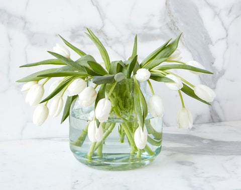 Clear Flower Vase - Regular Price $35