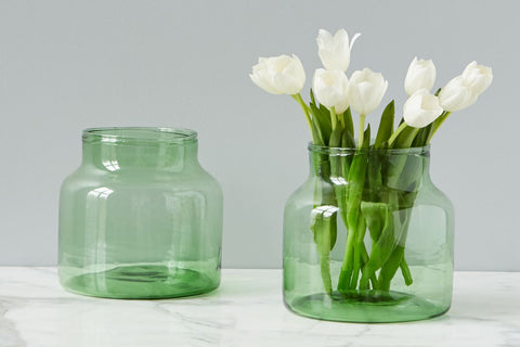 Green Flower Vase - Regular Price $35