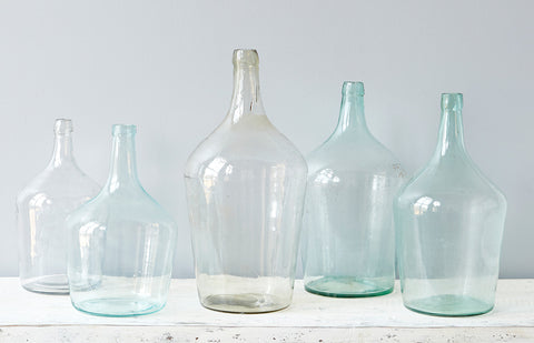 Found Glass Demijohn