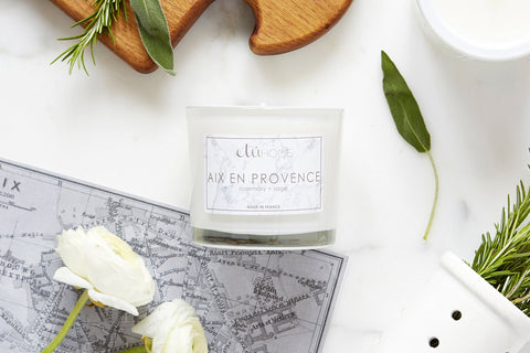 Kitchen Candle, Aix en Provence, Rosemary and Sage