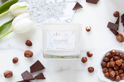 Kitchen Candle, Geneve, Chocolate and Hazelnut