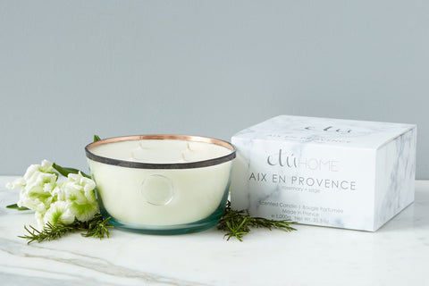 Large Kitchen Candle, Aix en Provence, Rosemary and Sage Kitchen Candle