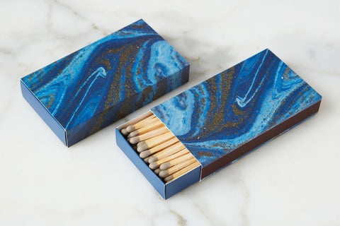 Navy Oversized Matches