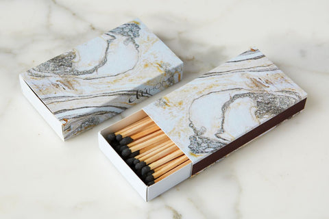 Silver Oversized Matches