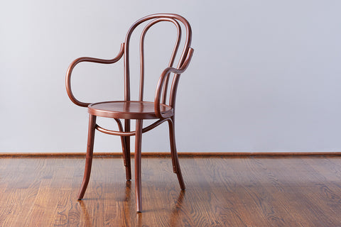 No. 18 Dining Arm Chair, Saddle
