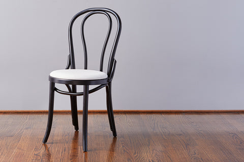 No. 18 Dining Chair, Black + White