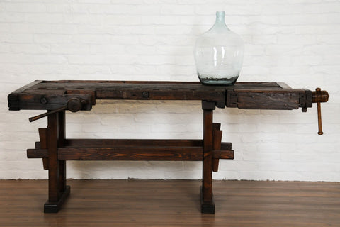 Antique-Carpenters-Work-Table