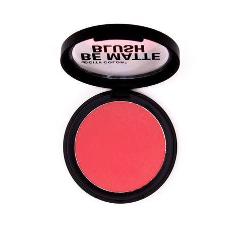 City Color Be Matte Blush - Blood Orange