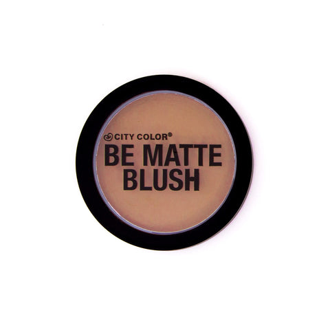City Color Be Matte Blush - Toasted Coconut