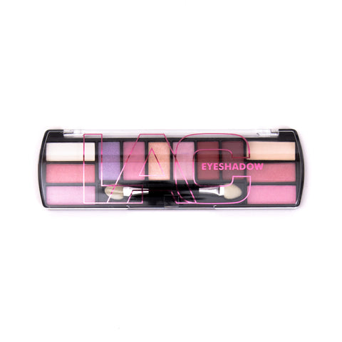LA Colors 12 Color Eyeshadow Palette - Simply Pink