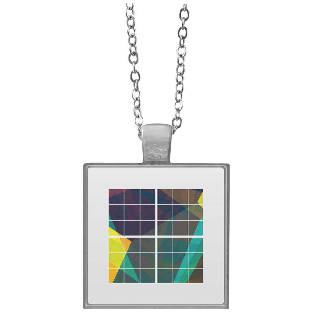 Square Necklace - bulk uploader - Grid - Trimmed