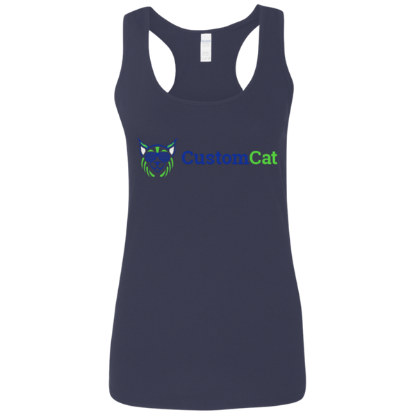 Ladies Softstyle Racerback Tank Weathers Test