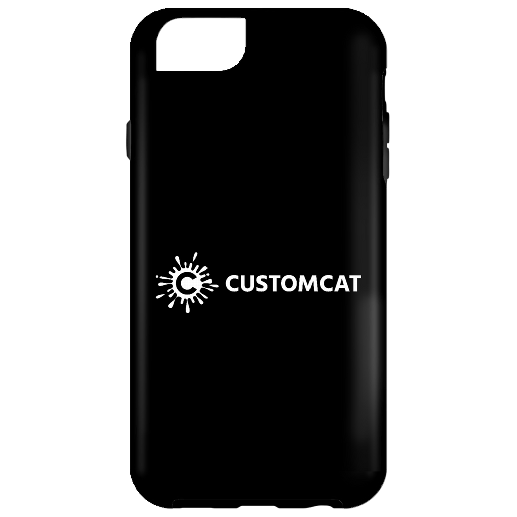 CustomCat White iPhone 6 Tough Case