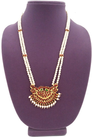 Kids Long Necklace Haaram 2 line-LNK2112