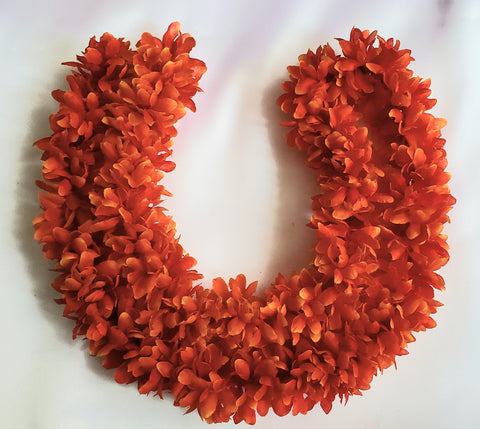 Synthetic Cloth Orange Flower String 1/2 mtr
