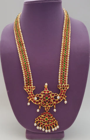 Kuchipudi Bharatanatyam Long Necklace LN2036