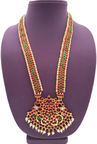 Kuchipudi Bharatanatyam Long Necklace LN2025