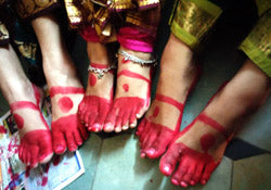 Altha (Alta) Parani Red Color for Dance