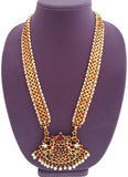 Temple Design Long Necklace Haaram - LN2020