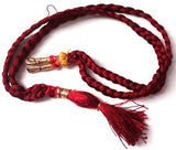 Maroon Thread for Long Necklace