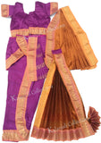 kids kuchipudi costume