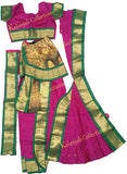 ready to wear kuchipudi costume